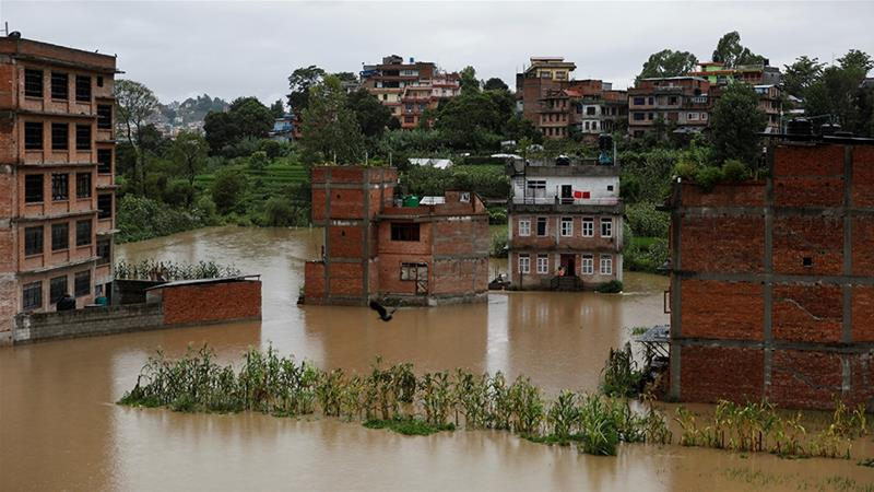 Landslides bury construction workers near Nepal's capital
