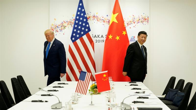 Tensions between the United States and China have soared since US President Donald Trump took office [File: Kevin Lamarque/Reuters]