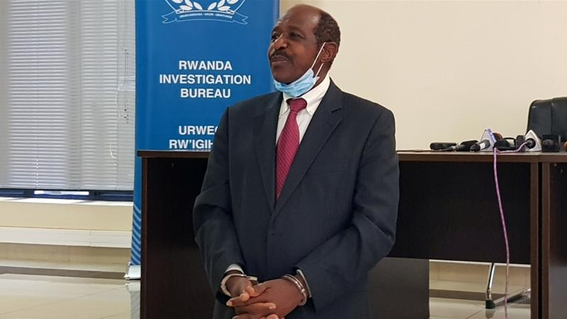Hotel Rwanda film hero Paul Rusesabagina held on terror charges | News | Al  Jazeera