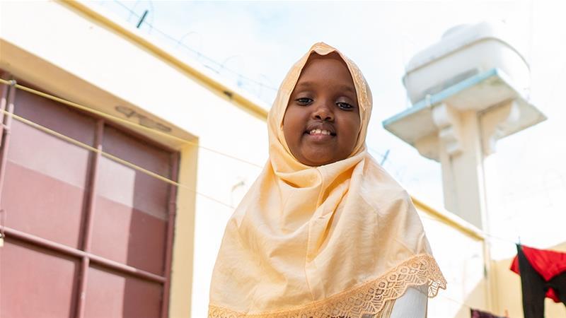 Muwado: 'I like to make people happy. I get happy when I see people laughing' [Ali Adan Abdi/Al Jazeera]