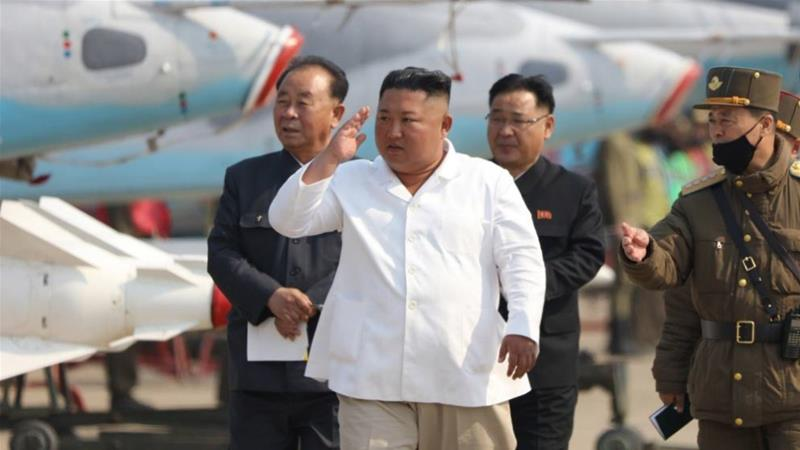 Kim Jong Un said there would be no more war as North Korea's nuclear weapons guarantee its safety despite outside pressure and military threats [KCNA via EPA]