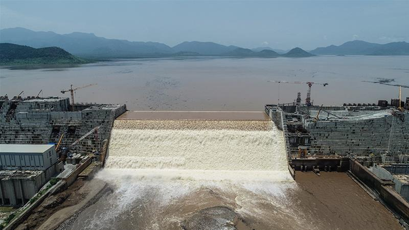 Ethiopia says electricity generated by its Grand Ethiopian Renaissance Dam is a crucial lifeline for the country [AFP]