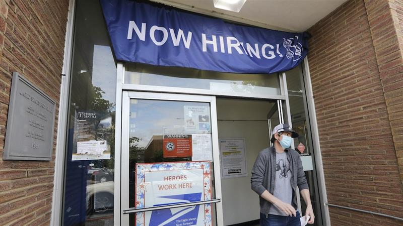 U.S. unemployment rate falls to 10.2 pct in July amid hiring slowdown