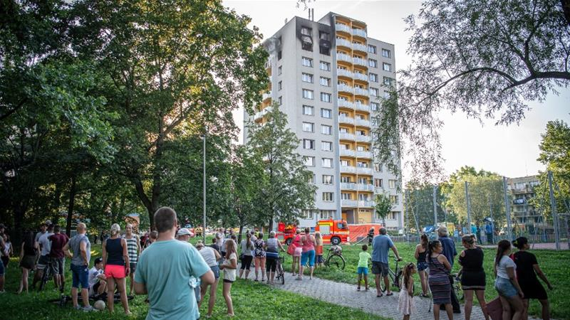 Eleven killed in Czech apartment block fire, Europe News & Top Stories