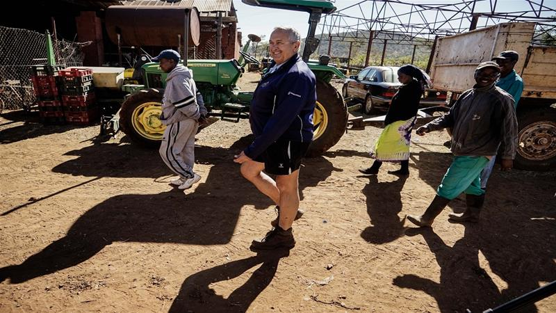 The number of white farmers has dropped to about 200 from 4,500 when land reforms began 20 years ago [File: Zinyange Auntony/AFP]