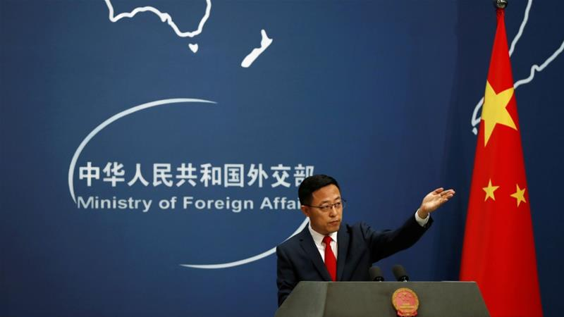 USA  'deeply concerned' about Hong Kong activists held in China -Pompeo