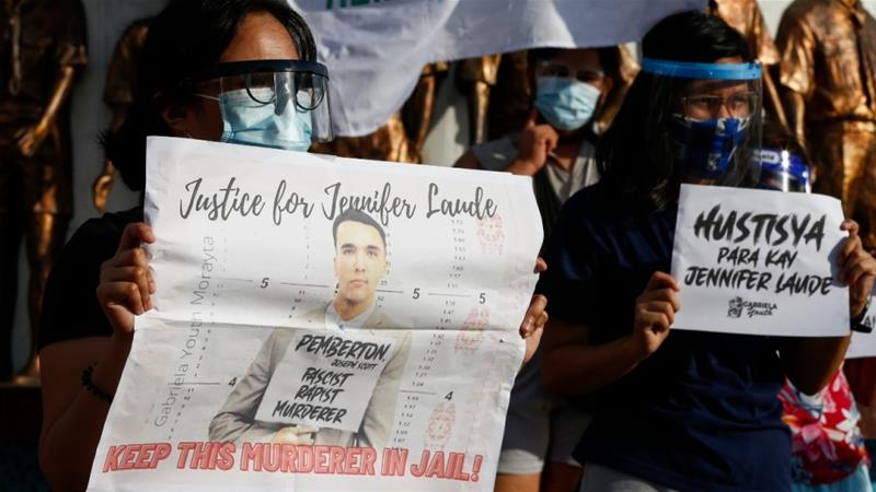Philippines deports US Marine pardoned for transgender killing
