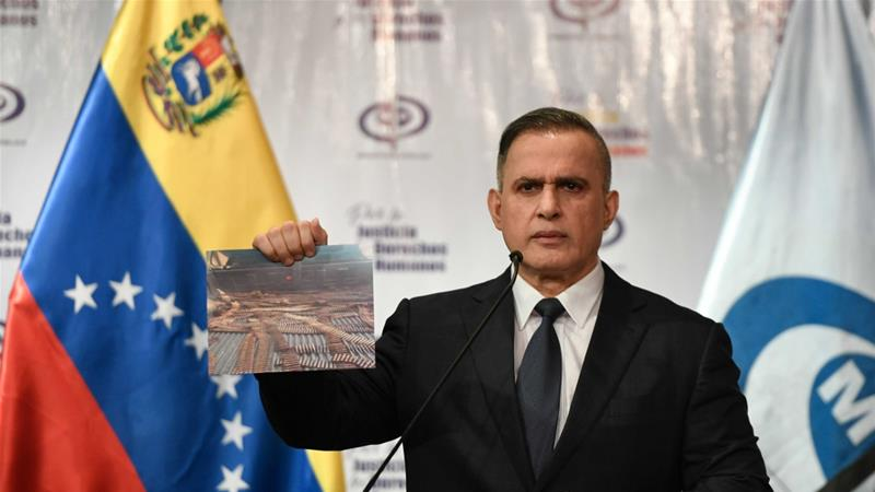 Venezuela charges detained USA 'spy' with terrorism, weapons trafficking