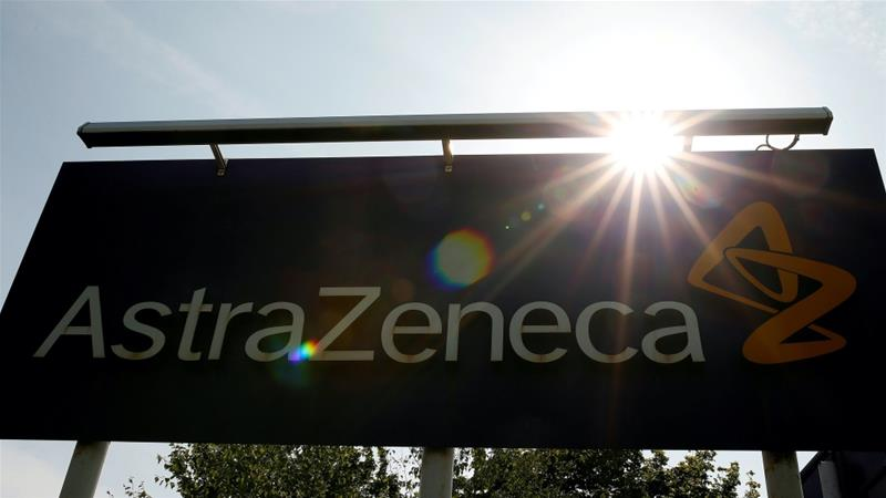 AstraZeneca's COVID-19 vaccine trials were placed on hold worldwide on September 6 after a serious side effect was reported in one volunteer in the United Kingdom [File: Phil Noble/Reuters]