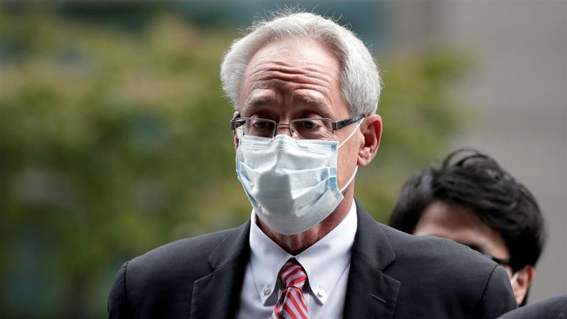 Greg Kelly is former representative director of Nissan Motor Co [Kiyoshi Ota/Pool via Reuters]