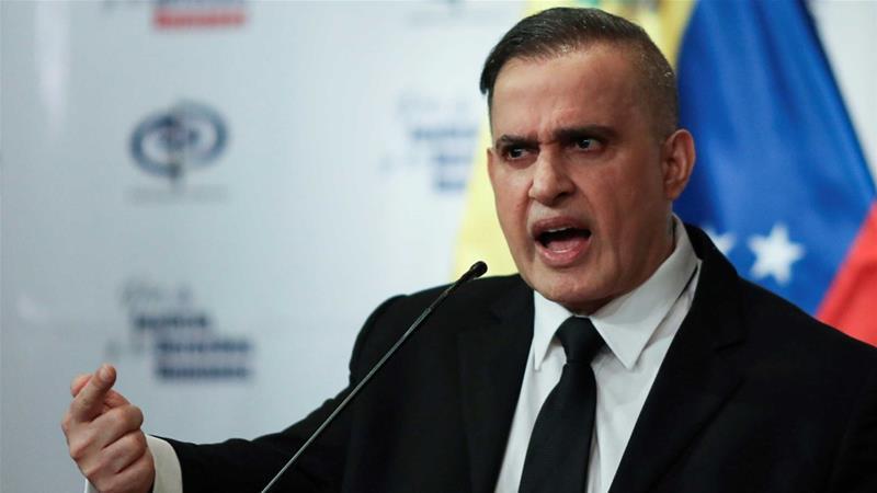 Venezuela's chief prosecutor Tarek William Saab announced charges of 'terrorism' and weapons trafficking  against American Matthew John Heath [File: Manaure Quintero/Reuters]