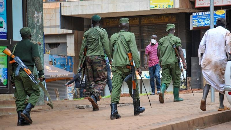 The jailbreak occurred on Wednesday afternoon near the army barracks in the district of Moroto [File: Ronald Kabuubi/AP]