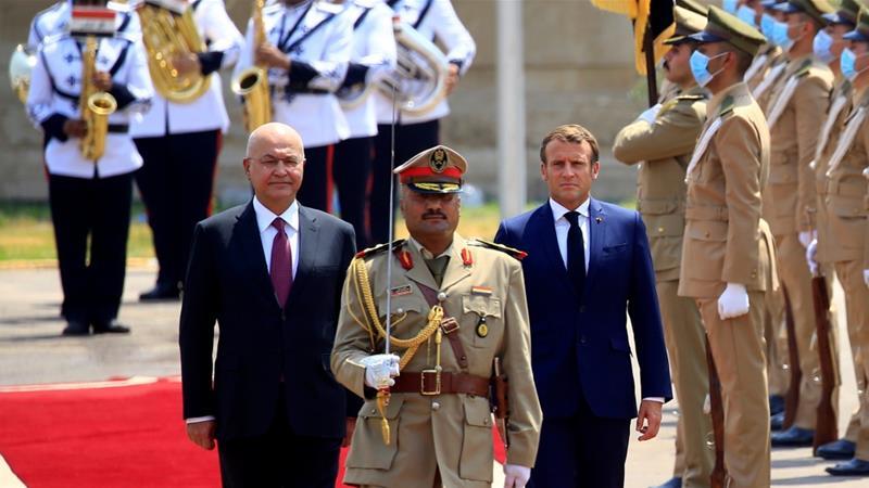 Macron says foreign interference among Iraq's top challenges | Iraq News |  Al Jazeera