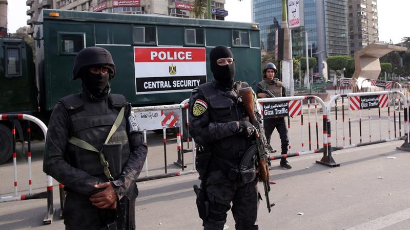 Anti-gov't protests in Egypt's Giza amid tight security presence | News |  Al Jazeera
