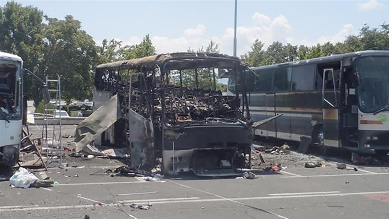 2 sentenced to life in absentia over Bulgarian bus bombing