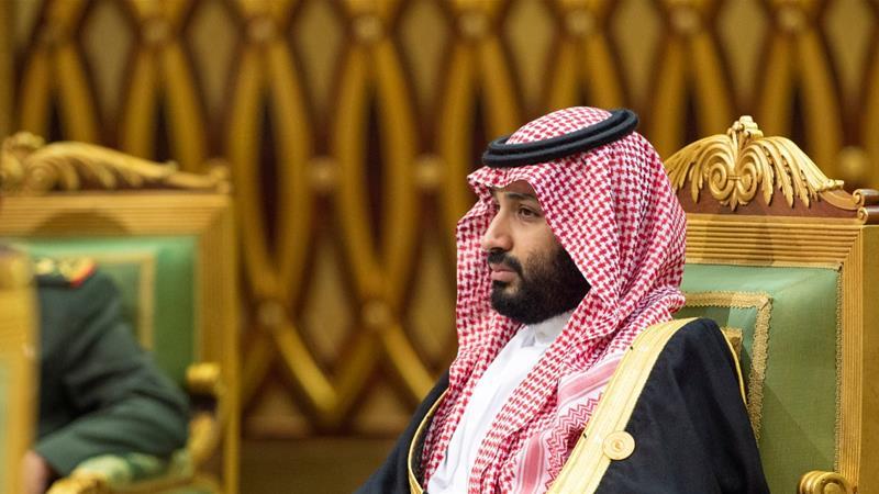 Saudi Arabia's Crown Prince <span>Mohammed bin Salman</span> attends the Gulf Cooperation Council's 40th Summit in Riyadh on December 10, 2019 [Handout via Reuters]