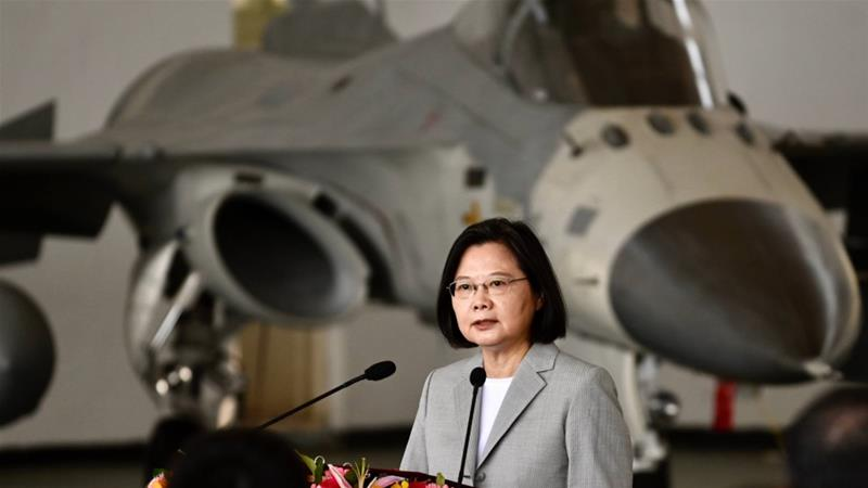 Taiwan scrambles fighters for fourth time in five days amid Chinese incursion