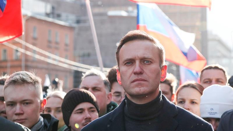 Russia Says Alexei Navalny