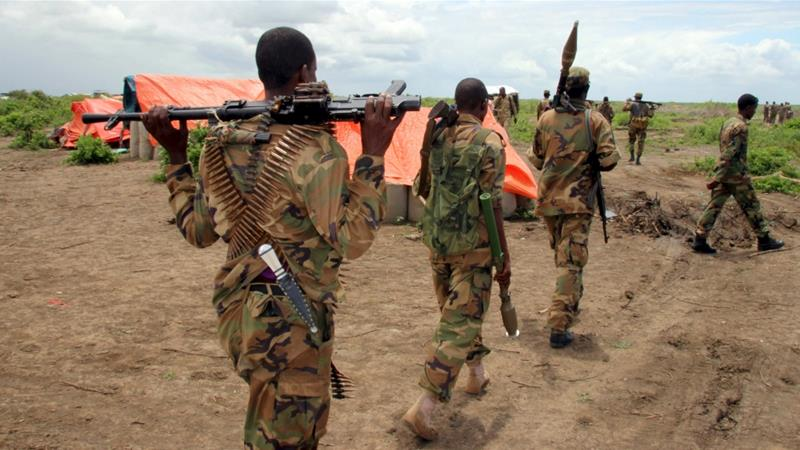 Somalia soldiers killed; US officer wounded in al-Shabab attack