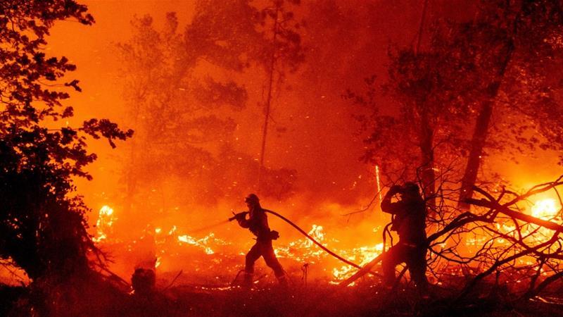 No solo hay incendios en California: toda América está en llamas