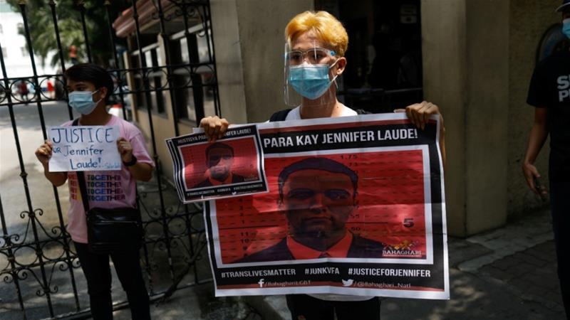 Philippines president pardons United States marine in transgender killing