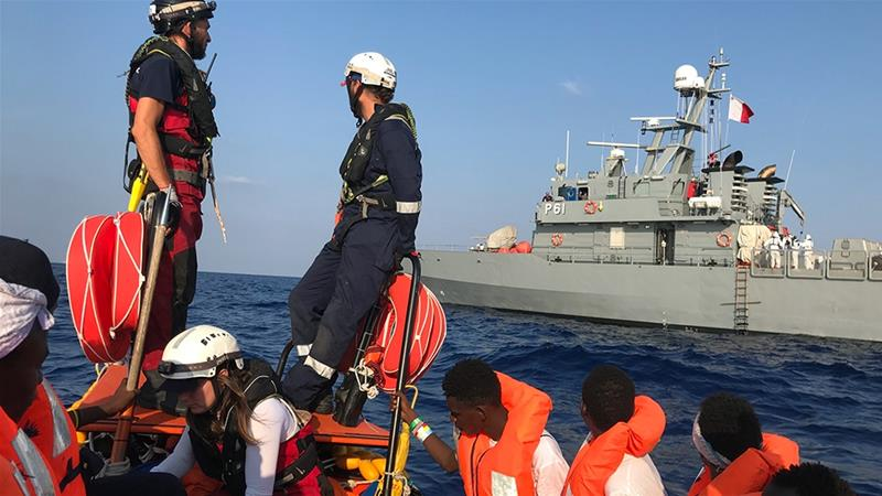 Malta using 'despicable, illegal tactics' to turn away migrants