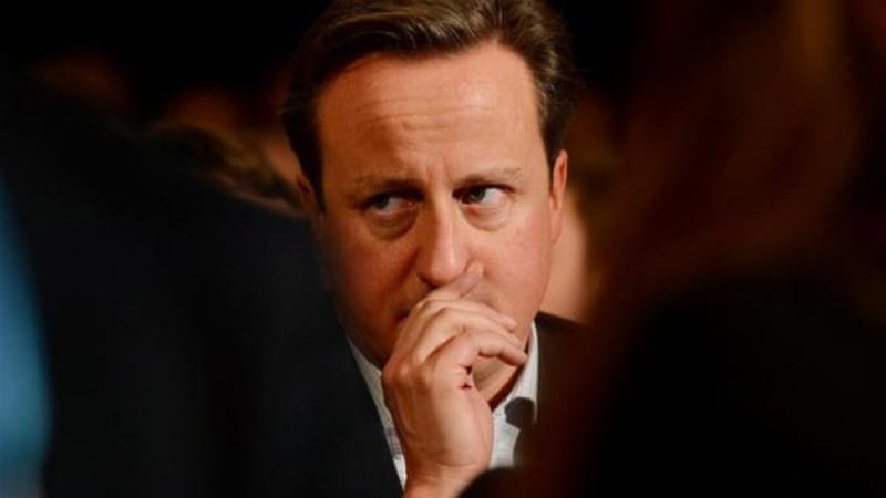 Prime Minister David Cameron worked in public relations before taking office [AFP]