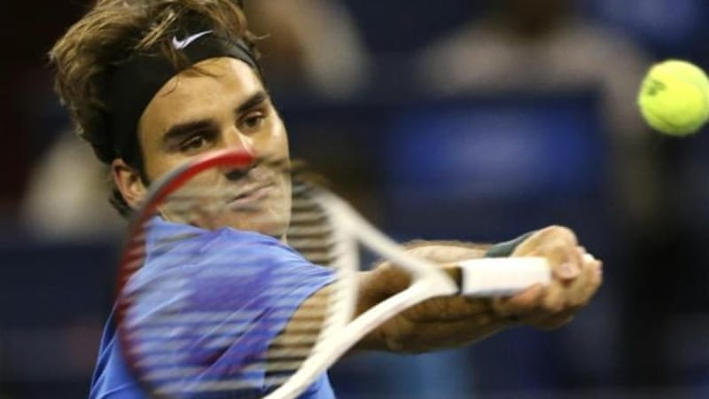 Federer put a death threat to the back of his mind as he defeated Taiwan's Lu Yen-hsun [AP]