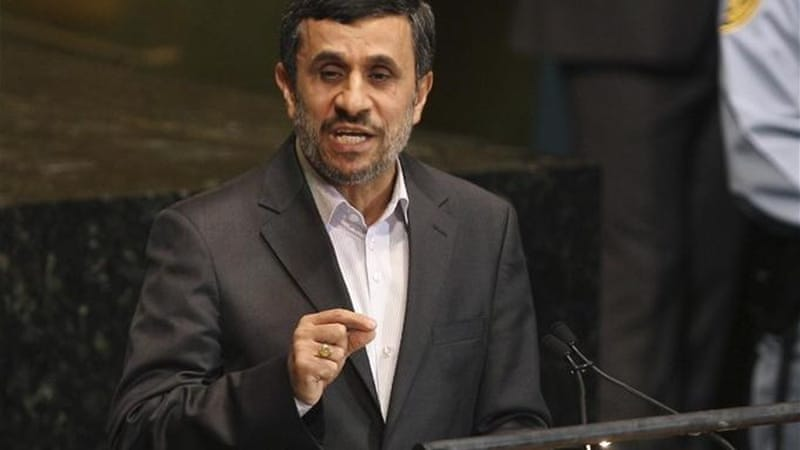 Iranian President Mahmoud Ahmadinejad unexpectedly offered a 'subdued' speech at the United Nations [AP]
