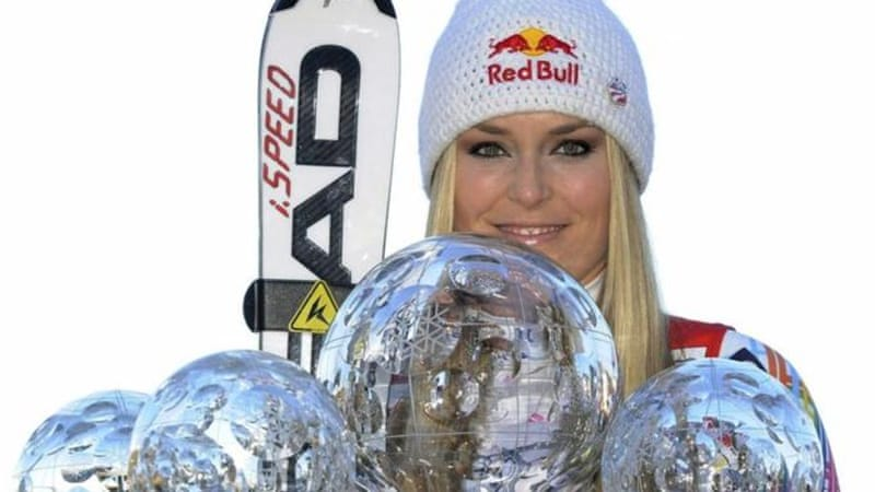 After dominating the world of women's alpine skiing for years, Vonn is eager to take on the men [AP]
