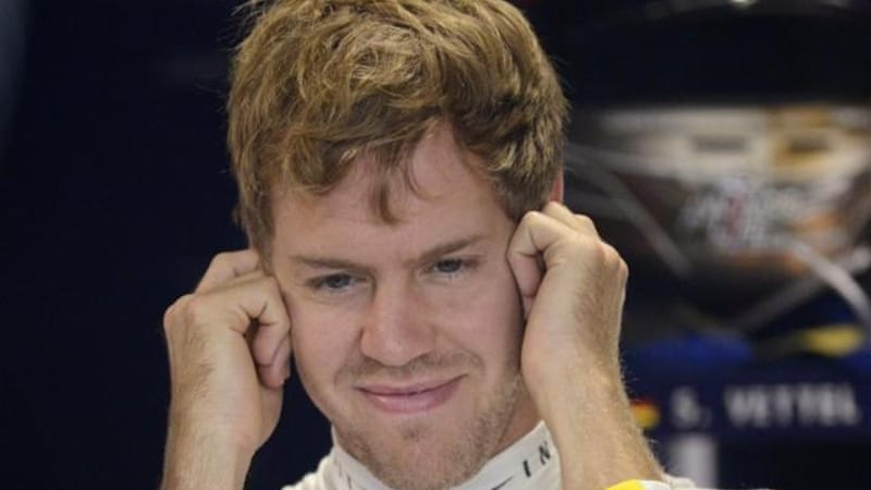 Still time for a smile: Vettel is finding his form when it matters [EPA]