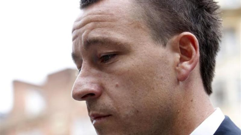 Former England football captain and Chelsea star John Terry was given a four game ban for his racist outburst [AP]