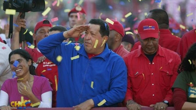 Cuba could lose an important strategic ally should Chavez lose his bid for reelection [AP]