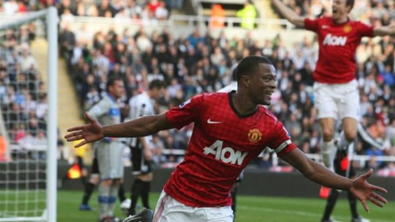 Manchester United turned the screw on Newcastle and were 3-0 victors at St James' Park [EPA]
