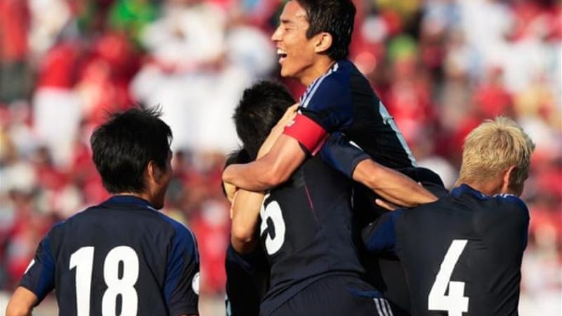 With 13 points Japan look certain of qualification, they have qualified for every World Cup since 1998 [GALLO/GETTY]
