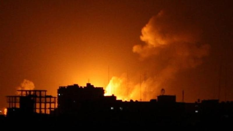 Israel has carried out hundreds of airstrikes within the past few days, devastating the Gaza Strip [AFP]
