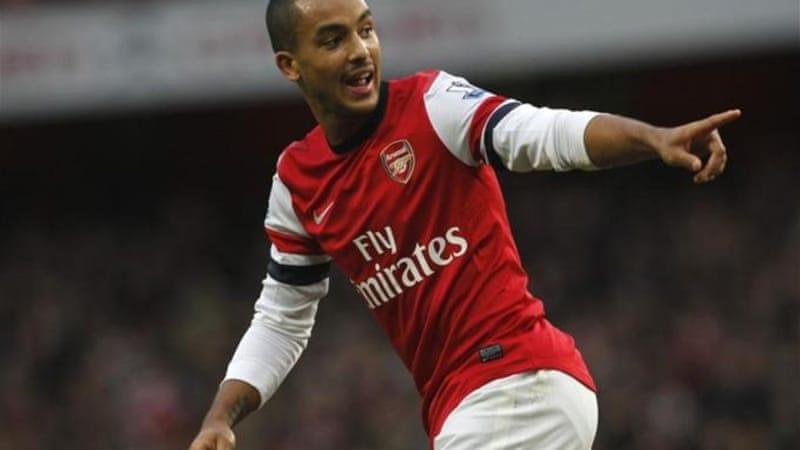 Arsenal's Theo Walcott has been in a good vein of form for his club [AP]