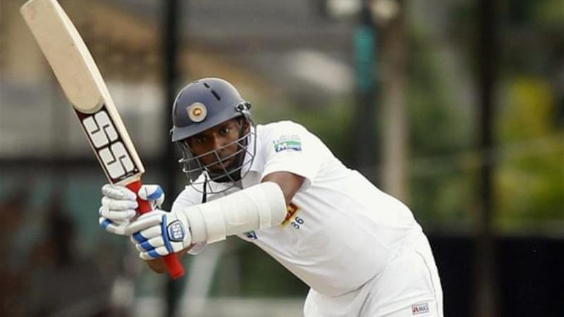 Thilan Samaraweera hit 76 not out and shared a 97 run partnership with Suraj Randiv [Reuters]