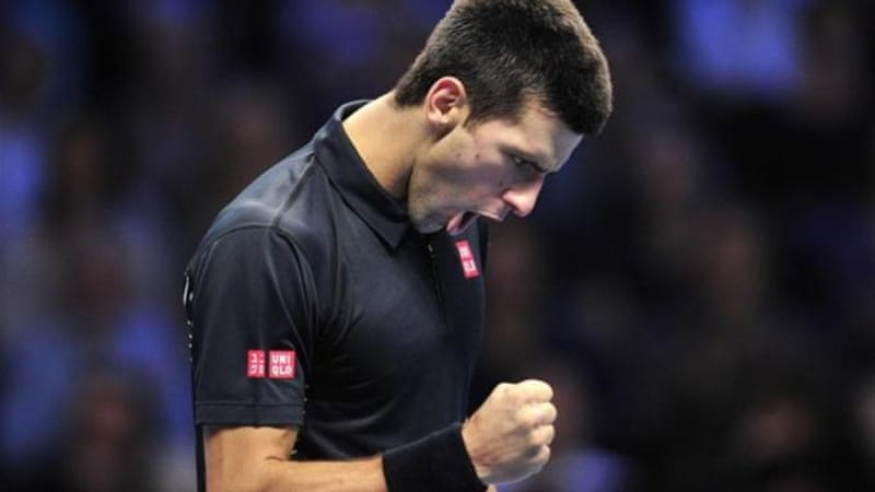 It was not easy for Serbia's Novak Djokovic but he proved why he is the world's number one [AFP]
