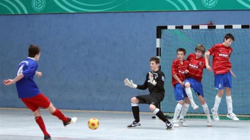 Already popular in South America, futsal is increasingly being taken up in other parts of the world [AP]