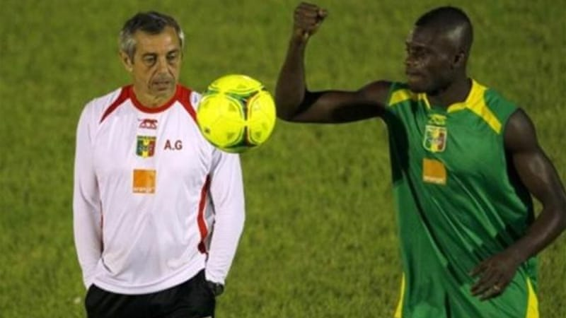 Former Mali coach Alain Giresse (L) was voted French Player of the Year in 1982, 1983 and 1987 [AP]