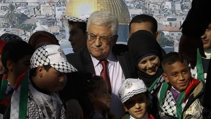 Palestinian President Mahmoud Abbas returned home to celebrations after their bid for upgraded status at the United Nations was accepted - but is it too little, too late? [AP]