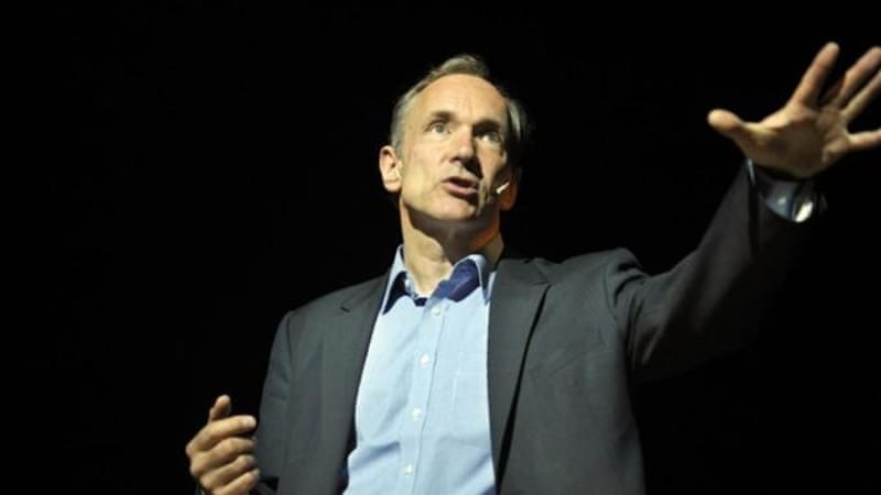 World Wide Web founder Tim Berners-Lee has called for a 'global constitution' to protect internet neutrality [Reuters]
