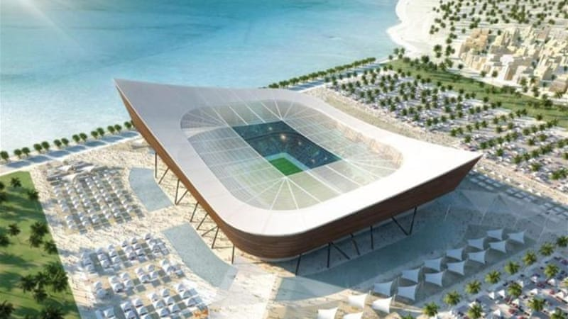 Qatar is building futuristic stadia for 2022 World Cup but is nation also planning club competition? [GETTY]