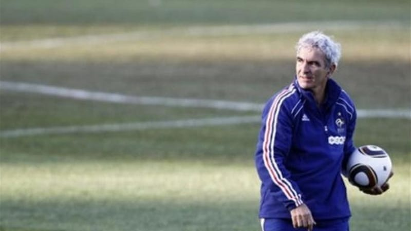 Domenech says he is looking forward to coaching another national side soon [AP]