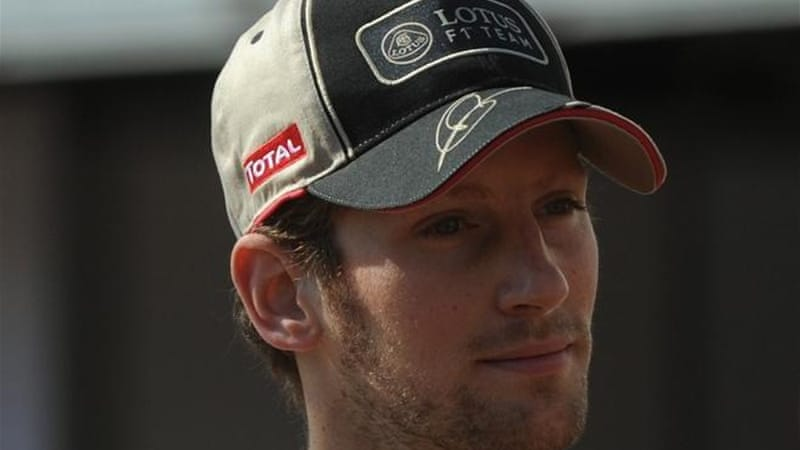 With Lotus quickly improving, Romain Grosjean has a serious chance of winning the Monaco GP [AFP]