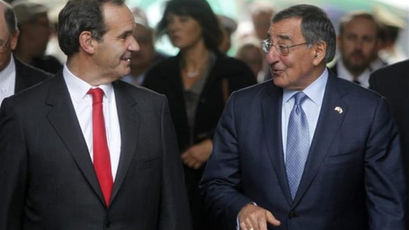 US Defence Secretary Leon Panetta was recently dispatched to Chile to quell concerns over the new military base [EPA]