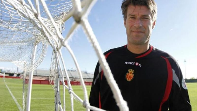Laudrup played at Barcelona and Real Madrid and managed Real Mallorca from 2010-11 [Reuters]