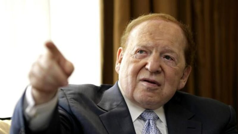 Casino tycoon and Republican donor Sheldon Adelson has said he wished he had served in the Israeli military [Reuters]