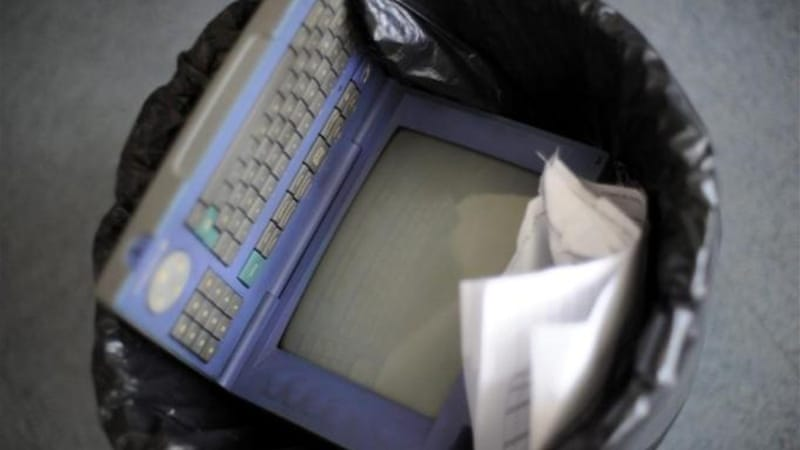 The Minitel was originally designed as as online directory by France Telecom to save paper [EPA]